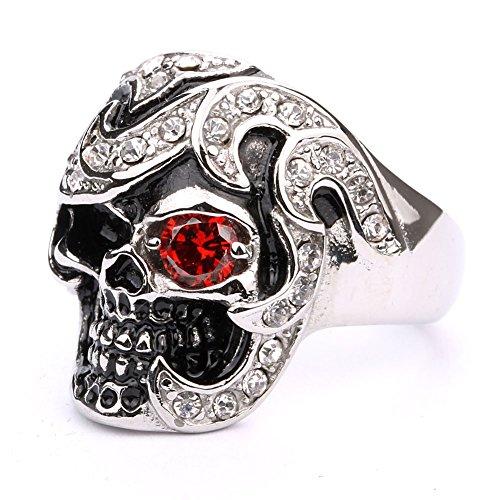Skull Red Eyes - 1