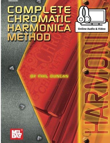 Harmonica Method Book - Complete Chromatic Harmonica Method