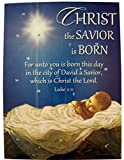 Christ the Savior is Born Cardstock Advent Calendar with Die Cut Pull Tabs, 10 Inch (1)
