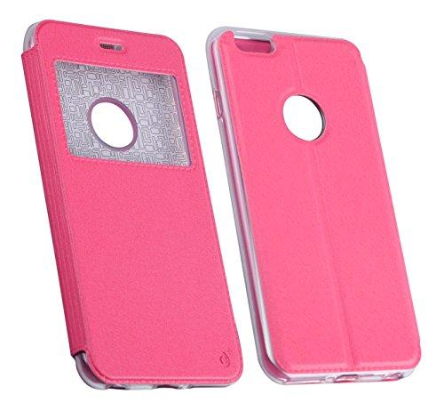 One plus Metallic Cover Fall für BQ AQ M5–pink