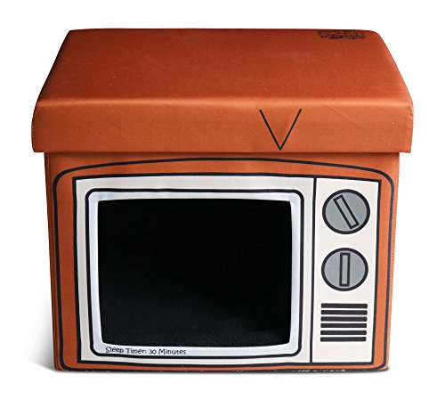Feline Ruff Indoor Cat House Ottoman. A Sturdy TV Cat