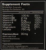 Ubervita Uberlegs Lactic Acid Inhibitor Capsules, 60 Count
