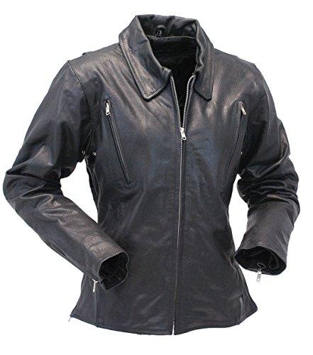 Long Motorcycle Jacket - 7