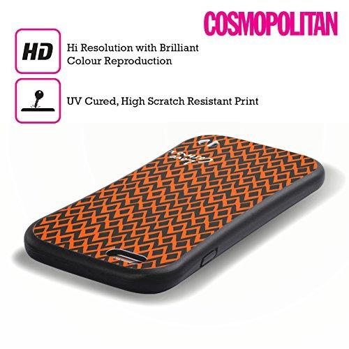 Official Cosmopolitan Orange Ikat Totally 80S Hybrid Case for Apple iPhone 6 / 6s