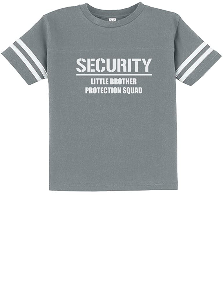 TeeStars Security for My Little Brother Toddler Jersey T-Shirt Big Brother
