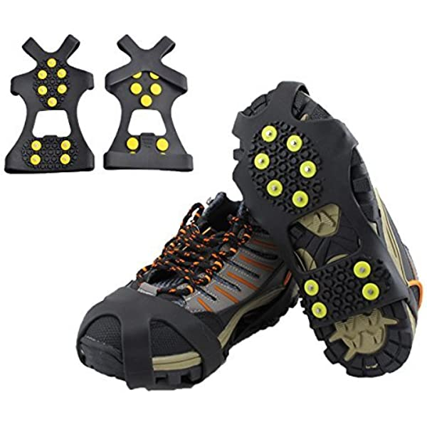 ice grippers for running shoes