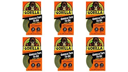 Gorilla Tape Go Black Pack