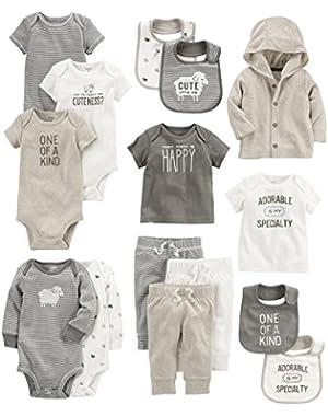 Baby 15-Piece Basic Essentials Set