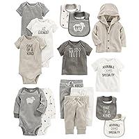 Carter's Baby 15-Piece Basic Essentials Set, Sheep, 3 Months