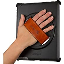 New Trent Arcadia Grabbit Case fit for the iPad (4th gen) with Retina display, the NEW iPad (3rd gen) and ipad2, with Genuine Leather handle and 360 deg rotator case for Apple (4th gen) with Retina display, the NEW iPad (3rd gen) and ipad2 3G Tablet, WIFI Model, 16GB, 32GB, 64GB comes with a nice stand (IMP37B)