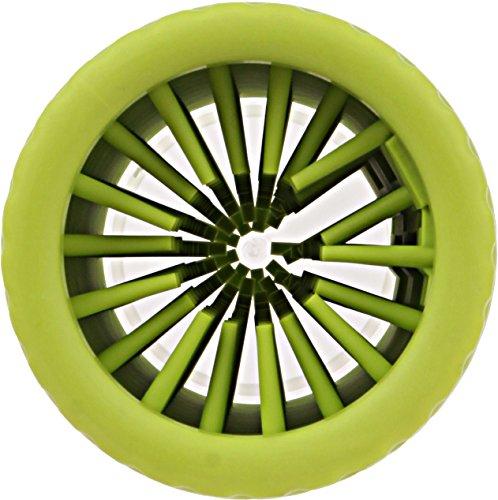 Dexas MudBuster Portable Dog Paw Cleaner, Medium, Green by Dexas (Image #1)