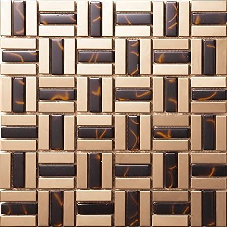 golden strip glass
