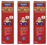 Boudreaux's Butt Paste Diaper Rash Ointment | Maximum Strength | 4 Oz | Pack of 3