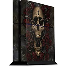 Skull & Bones PS4 Console Skin - Skull Entwined with Roses | Skinit Art Skin