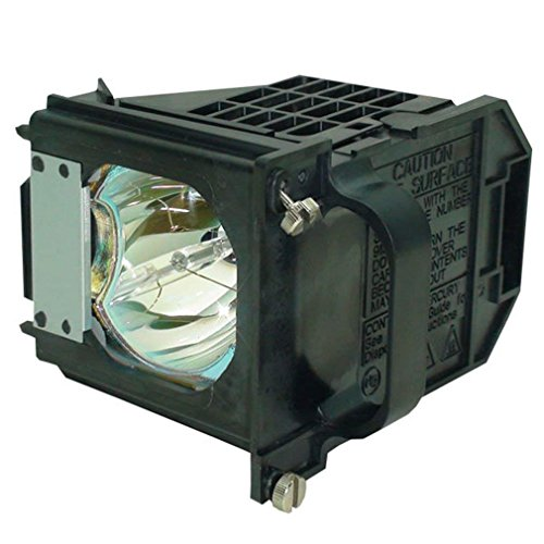 JTL 915P061010 Lamp With Housing For Mitsubishi 915P061010, WD-65733, WD-57733, WD-65734, WD-73733, WD-65833, WD-73833, WD-57734, WD-73734, WD65733, WD-Y657, WD-57833, WD-C657, WD73733, WD65734, WD577 by JTL