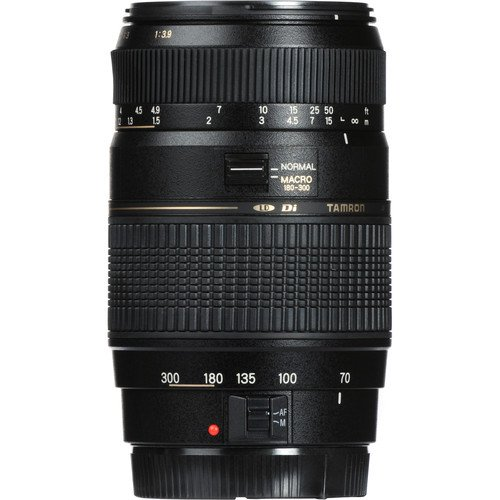 Canon EOS 6D Mark II with 50mm f/1 8 STM Prime + Tamron 70-300mm f/4-5 6 Di  LD + 500mm Telephoto + 128GB Memory + Pro Battery Bundle + Power Grip +
