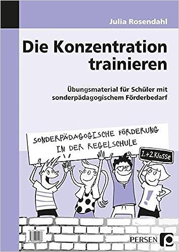 Die Konzentration Trainieren übungsmaterial Für Schüler Mit