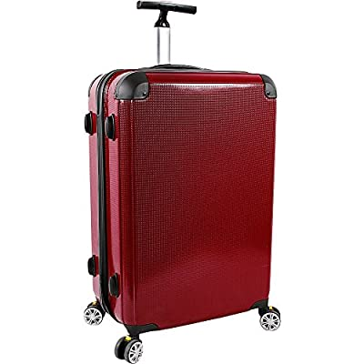 J World New York Cruz 20 inch Hardside Spinner Carry-on Luggage 50%OFF