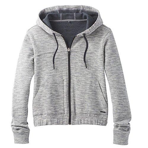 Prana Warm Up Jacket (prAna Women's Unity Hoodie, Grey, M)