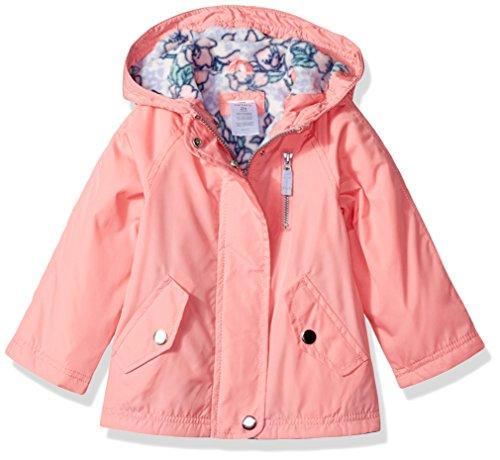 Snap Windbreaker Bunny Lined Fleece Little Pink Pocket Girls' Carter's nwxaYHRgEg