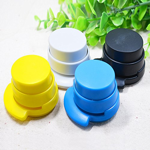 Desk Button Stapler Cute Mini Desktop Stapler Mini Fashion Stapler- Antimicrobial Commercial(Office/Home )