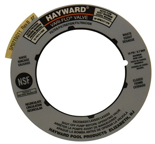 el Plate Replacement for Hayward Multiport and Sand Filter Valves ()