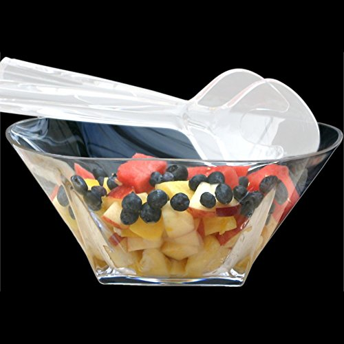 - Grainware 70250 Savannah Acrylic Large Salad Bowl