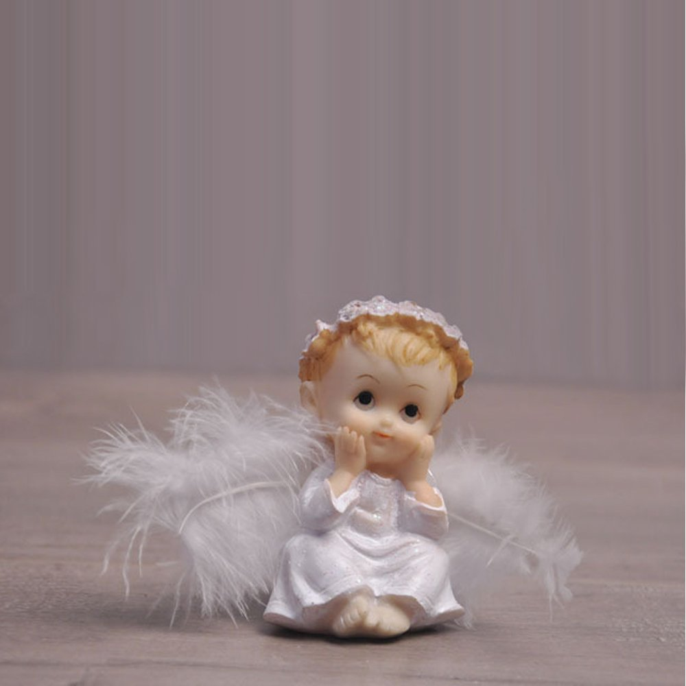Angel Baby Cake Toppers Lovely Cake Decoration Cute Creative Party/Car/ Home/Office Ornaments (C)