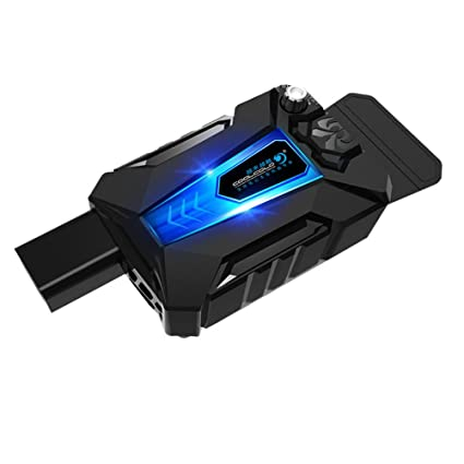 Uonlytech Mini-refroidisseur Universal para Ordenador portátil USB Ventilador de refrigeración Enfriador de Aire Velocidad