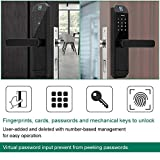 Touchscreen Fingerprint Smart Lock, Electronic