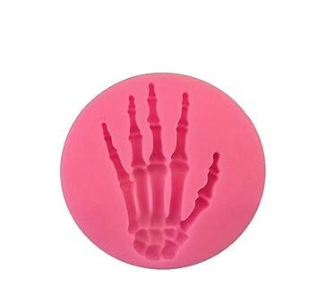 JUNGEN® Molde de silicona para pastel Forma de Halloween moldes para hornear Decoracion Tartas Pasteles DIY jabón moldes: Amazon.es: Hogar