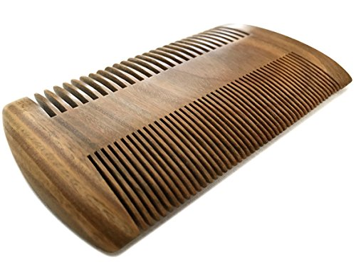 Beard Experts – Dual-action Beard Comb – beardcomb-1 – 3.8″ – 100% Real Sandalwood