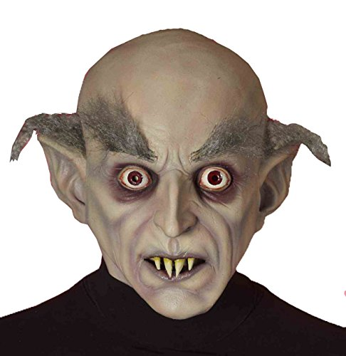 Forum Novelties Men's Old Vampire Latex Mask, Beige, One Size