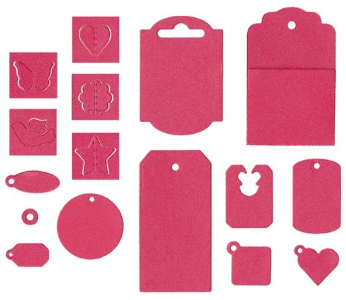 QUICKUTZ Lifestyle Crafts Tag It Kit Cookie Cutter Die -