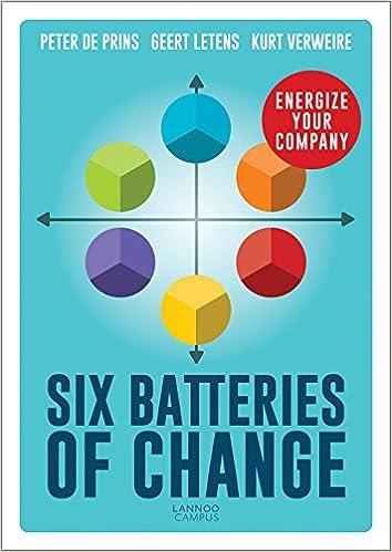 72ce6735a9b Six Batteries of Change: Energize Your Company: Peter De Prins, Geert  Letens, Kurt Verweire: 9789401444569: Amazon.com: Books