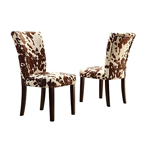Home Creek Julian Cowhide-Print Side Chair – Set Of 2 Benefits