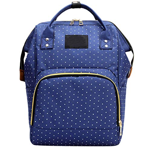 (Mummy Bag Nappy Bottle Bag Large Capacity Baby Bag Travel Backpack Nursing Bag)