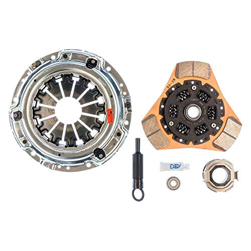 EXEDY Racing Clutch 15955 Stage 2 Cerametallic Clutch Kit Ductile Casting Thick Ceramic Facing 230mm 24T/25.2mm Spline Stage 2 Cerametallic Clutch Kit ()