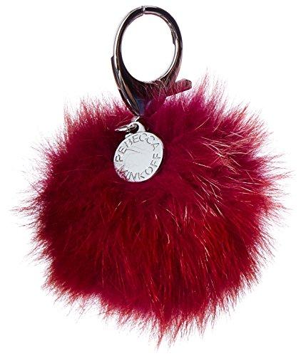 Minkoff Pom Rebecca Multi Multi Fur Red Aq0dw