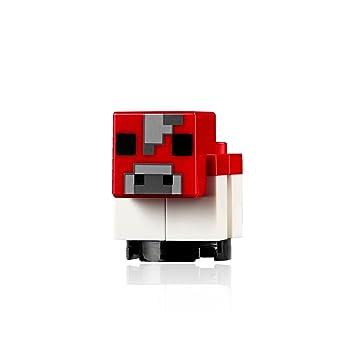 Amazon.com: LEGO Minecraft MiniFigure - Minecraft Baby Mooshroom Cow ...