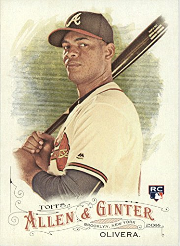 2016 Topps Allen and Ginter Baseball #232 Hector Olivera RC Atlanta Braves