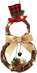 Christmas Home Decoration Wreath Pendant Spring Wreath for Indoor Front Door