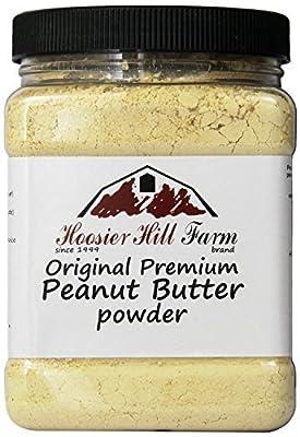 Hoosier Hill Farm Peanut Butter Powder, 2 Lbs., Gluten Free, Non-GMO, Made in USA from Hoosier Hill Farm