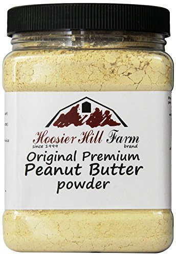 Farms Peanut - Hoosier Hill Farm Peanut Butter Powder, 2 Lbs., Gluten Free, Non-GMO, Made in USA