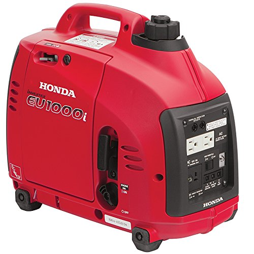 Honda Power Equipment EU1000T1A 1,000W Portable Generator CARB, Steel ()