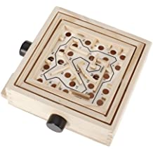 Wooden Labyrinth Puzzle Moving Maze Game