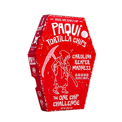 Paqui Carolina Reaper Madness One Chip Challenge Tortilla Chip for $<!--$174.98-->