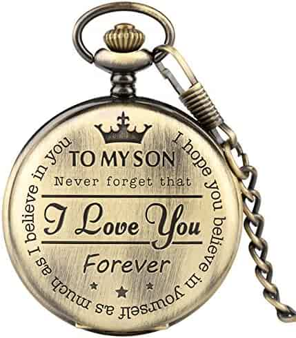 Pocket Watch for Kids, Engraved Pocket Watch