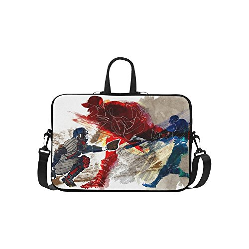 baseball laptop sleeve case bag