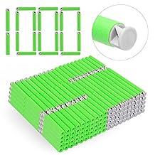 Refill Bullets, Yamix 1000-Dart Refill Pack Refill Darts Foam Darts for nerf n strike elite accustrike series blaster - Grey + Green